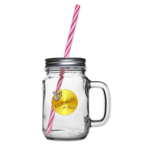rammler - Henkelglas mit Schraubdeckel