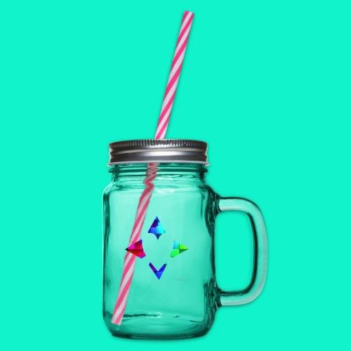 4lof - Drinkbeker met handvat en schroefdeksel