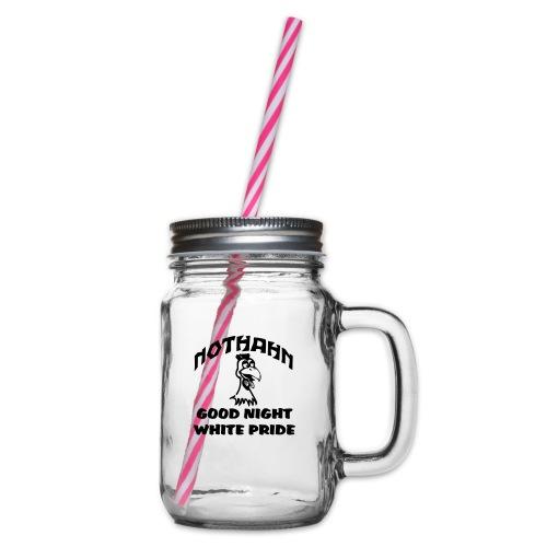 brust_pfad_klein - Henkelglas mit Schraubdeckel