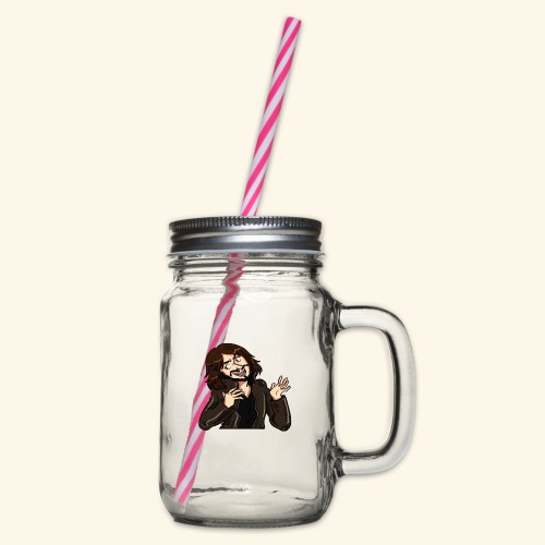 LJG st png upload 2 4000x - Glass jar with handle and screw cap