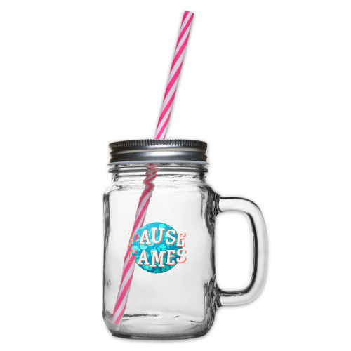 Pause Games New Version - Glass jar with handle and screw cap