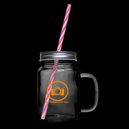 Orange 2 png - Drikkekrus med skruelåg