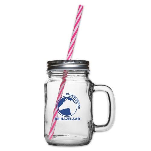 LgHazelaarPantoneReflexBl - Drinkbeker met handvat en schroefdeksel