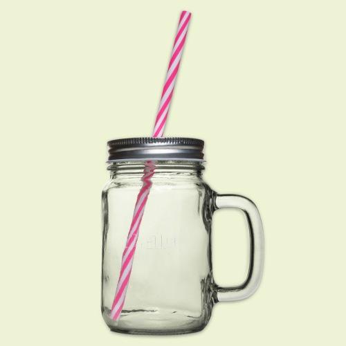 Mainhattan FFM - Henkelglas mit Schraubdeckel