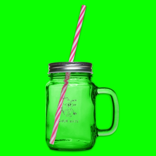 Goblin Noise - Glass jar with handle and screw cap