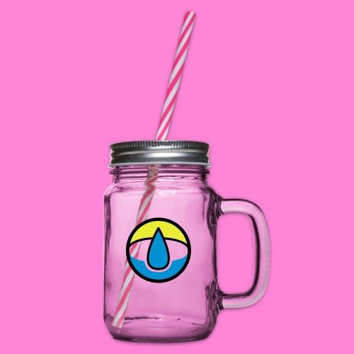 waterpunt - Drinkbeker met handvat en schroefdeksel
