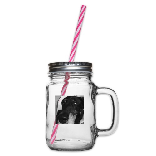 Rocco Mug - Glass jar with handle and screw cap