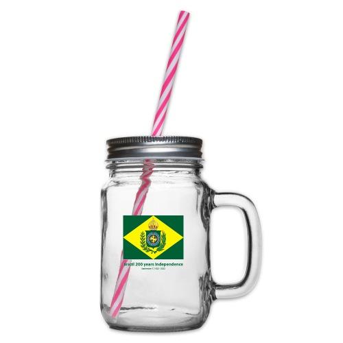 Brazil 200 years independence - Glass med hank og skrulokk