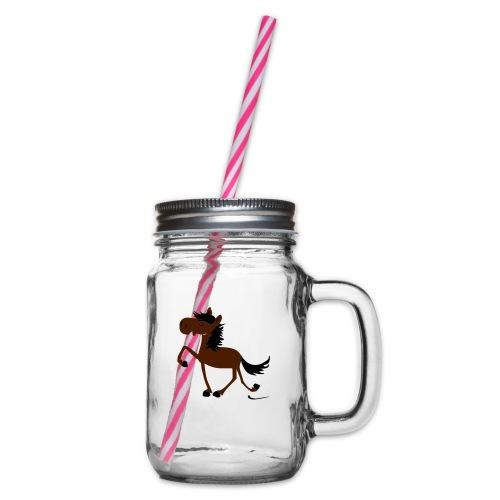 toelt2 - Henkelglas mit Schraubdeckel