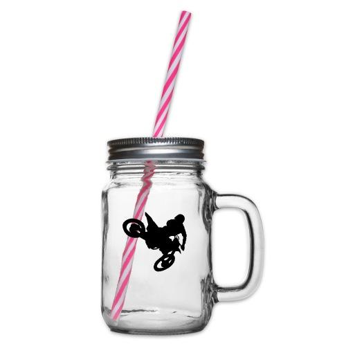 MX Whip - Henkelglas mit Schraubdeckel