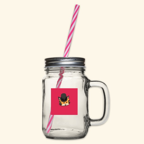 HCP custo 10 - Glass jar with handle and screw cap