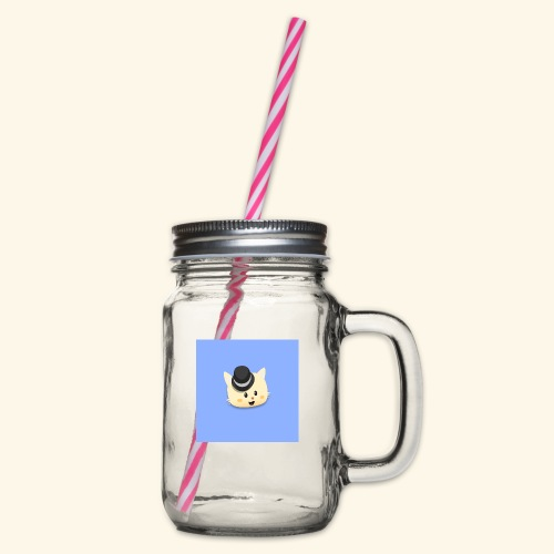 HCP custo 13 - Glass jar with handle and screw cap