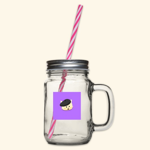 HCP custo 17 - Glass jar with handle and screw cap