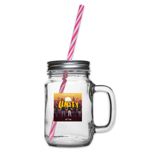 Boba D Official - Drinkbeker met handvat en schroefdeksel
