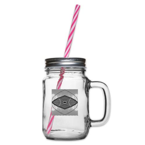 Leverkusen #4 - Henkelglas mit Schraubdeckel