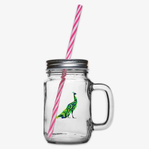 Paw - Słoik do picia z pokrywką