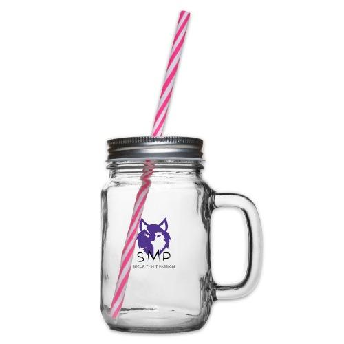 SMP Wolves Merchandise - Henkelglas mit Schraubdeckel