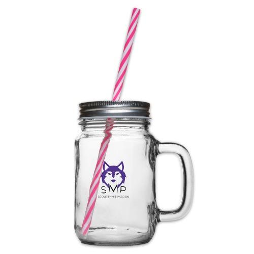 Security mit Passion Merchandise - Henkelglas mit Schraubdeckel