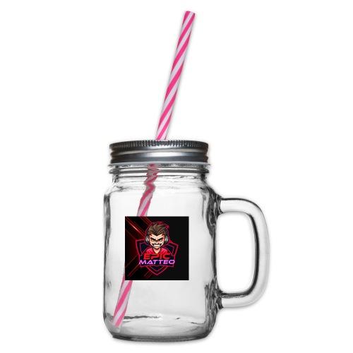 HDGegrieft - Henkelglas mit Schraubdeckel
