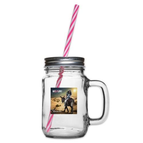 NIKKI PUPPET INTO THE WILD - Henkelglas mit Schraubdeckel