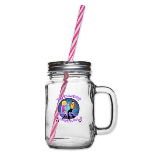 Logo2 png - Drinkbeker met handvat en schroefdeksel