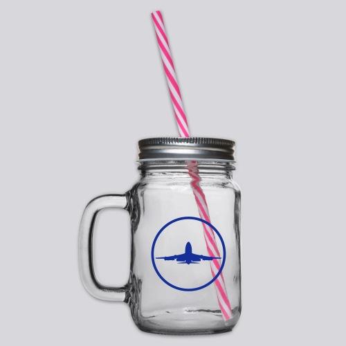 IVAO (symbole bleu) - Bocal à boisson