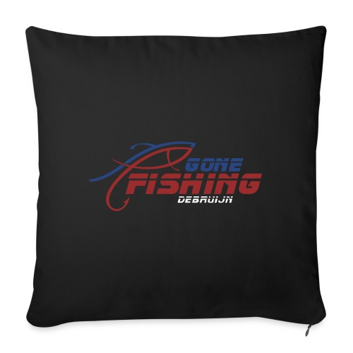 GONE-FISHING (2022) DEEPSEA/LAKE BOAT COLLECTION - Sofa pillow with filling 45cm x 45cm