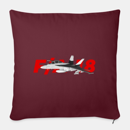F/A-18 Super Hornet | F 18 | F18 | F/A18 | Hornet - Sofa pillow with filling 45cm x 45cm