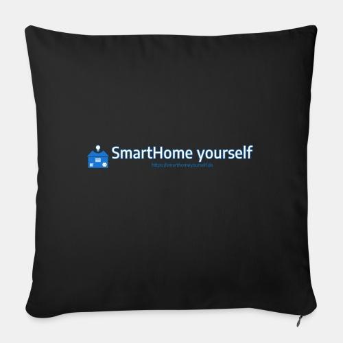 SmarthomeYourself Logo - Sofakissen mit Füllung 44 x 44 cm