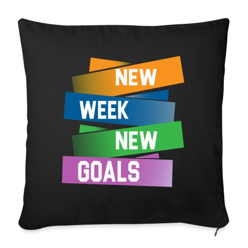 new week - Coussin et housse de 45 x 45 cm