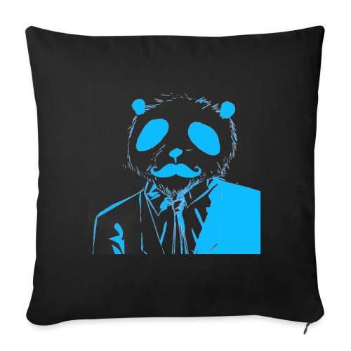 BluePanda Logo - Sofa pillow with filling 45cm x 45cm