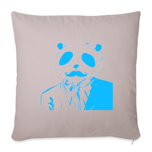 BluePanda Logo - Sofa pillow with filling 45cm x 45cm
