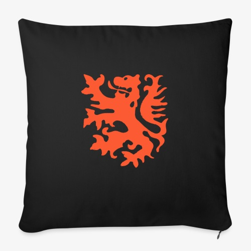 Orange lion Replica Holland 1974 - Sofa pillow with filling 45cm x 45cm