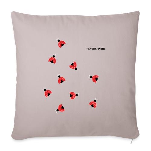 ladybird 2 design tc - Sofa pillow with filling 45cm x 45cm