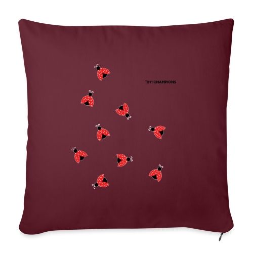 ladybird 2 design tc - Sofa pillow with filling 45cm x 45cm