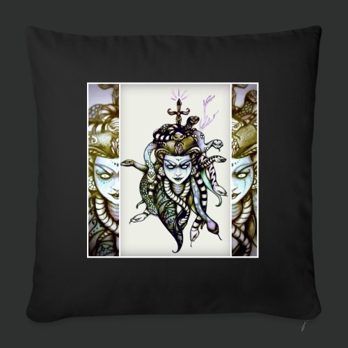 Meduss - Cuscino da divano 44 x 44 cm con riempimento