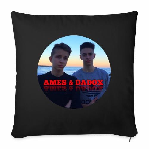 AMES & DADOX - Cuscino da divano 44 x 44 cm con riempimento