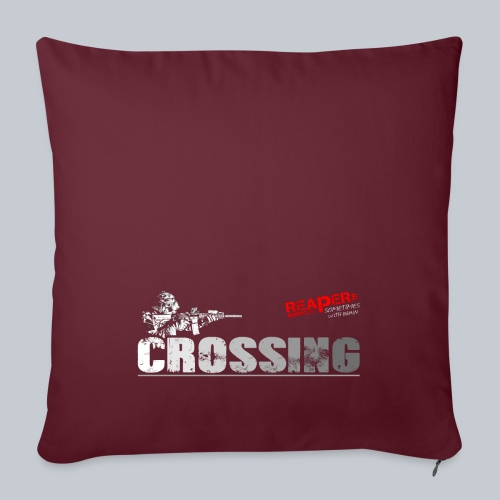 CROSSING - REAPERs Airsoft - Sofakissen mit Füllung 44 x 44 cm