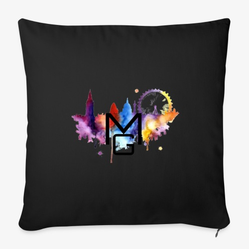 London Watercolour MG - Sofa pillow with filling 45cm x 45cm