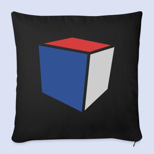 Cube Minimaliste - Coussin et housse de 45 x 45 cm