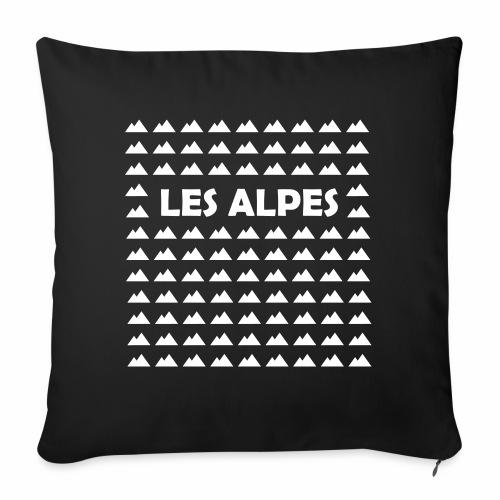 Les Alpes - Coussin et housse de 45 x 45 cm