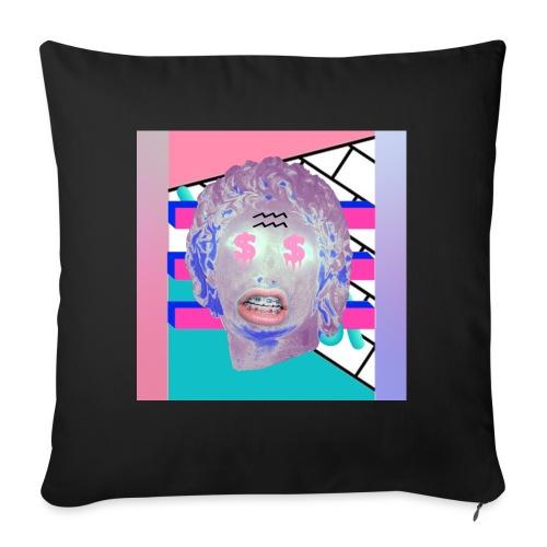 La playera del capitalismo moderno - Cojín de sofá con relleno 44 x 44 cm
