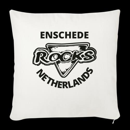 Rocks Enschede NL B-WB - Bankkussen met vulling 44 x 44 cm