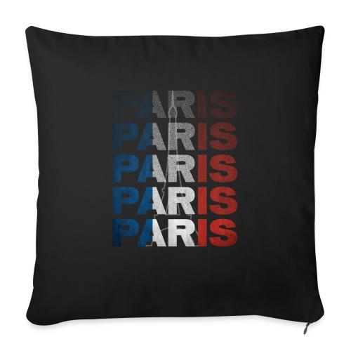Paris, France - Sofa pillow with filling 45cm x 45cm