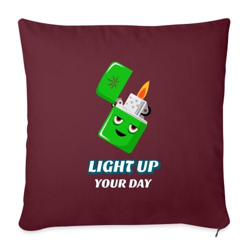 Light up your day - Sofakissen mit Füllung 44 x 44 cm