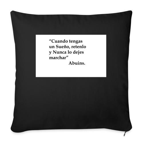 Frase camiseta Abuins 2 editado 1 - Cojín de sofá con relleno 44 x 44 cm