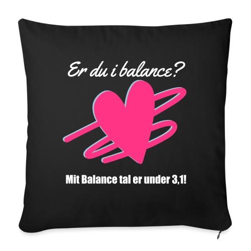 I Balance Design - Sofapude med fyld 44 x 44 cm