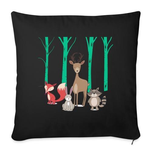 Las body dziecko - Poduszka na kanapę z wkładem 44 x 44 cm