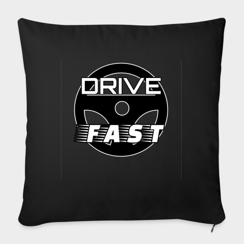 Drive Fast (Drive Fast) - Sofa pillow with filling 45cm x 45cm