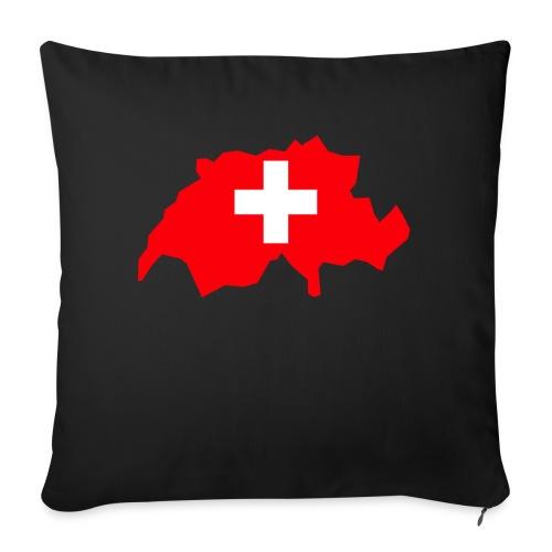 Switzerland - Bankkussen met vulling 44 x 44 cm